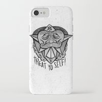 treat yo self iPhone & iPod Cases featuring TREAT YO SELF by Josh LaFayette