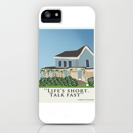 Life's short, talk fast! iPhone Case