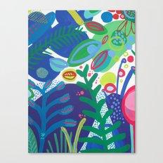 Secret garden III Canvas Print