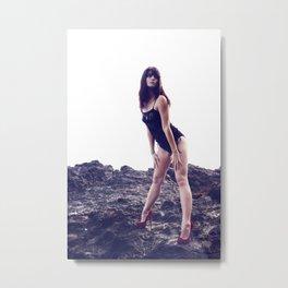 Brittney Lapham - Volcanic Metal Print