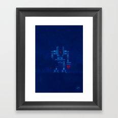 big robot Framed Art Print