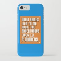 video games iPhone & iPod Cases featuring Video Games Lied To Me by Made With Awesome