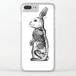Rabbit entrials Clear iPhone Case