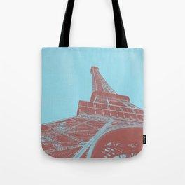 Eiffel Tower Color Pop Tote Bag