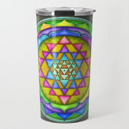 Sri Yantra VII.V Travel Mug
