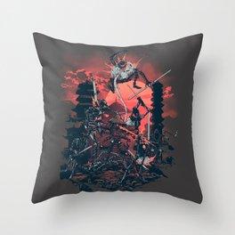 The Showdown Throw Pillow