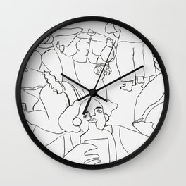 find what you love and let it kill you. Wall Clock