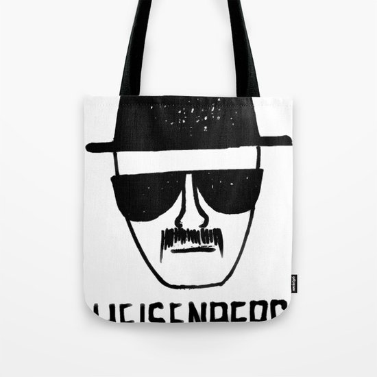 Heisenberg - Breaking Bad Sketch Tote Bag