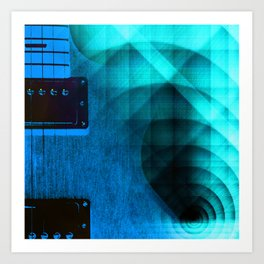 From Out of the Blues Art Print