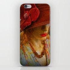 Kuhl's Kit Kat Klub: Madeleine's Cloche Shocks The Padre iPhone & iPod Skin