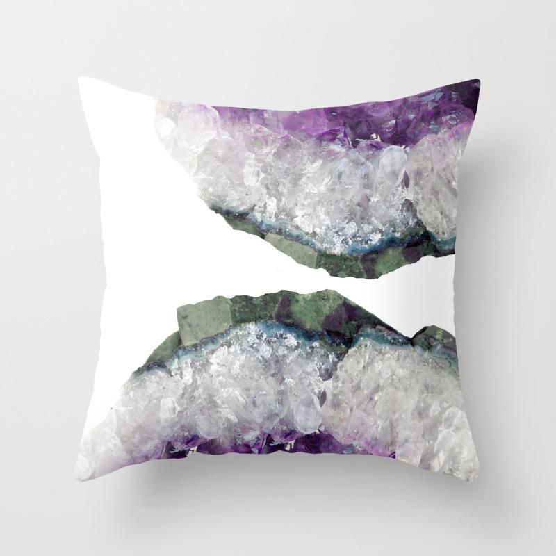 Amethyst throw pillows society6 for Amethyst throw pillows