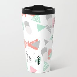 Pastel minimal pattern gender neutral nursery pattern home office trendy designs Travel Mug