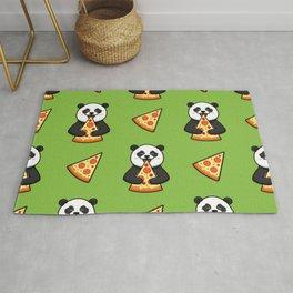 Pizza Panda cut Kawaii Rug