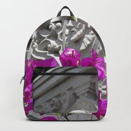 Hearst castle bougainvillea Backpack