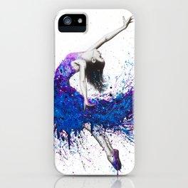 Evening Sky Dancer iPhone Case