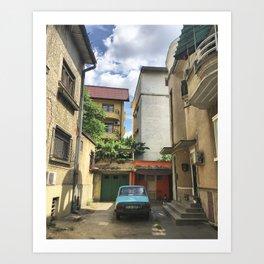 BUCHAREST #3 Art Print