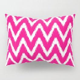 Pink Asian Moods Ikat Chevrons Pillow Sham