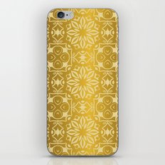 Floral luxury royal antique pattern iPhone Skin