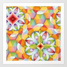 Big Top Mandala Art Print