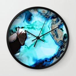 Coastal Vibes Wall Clock