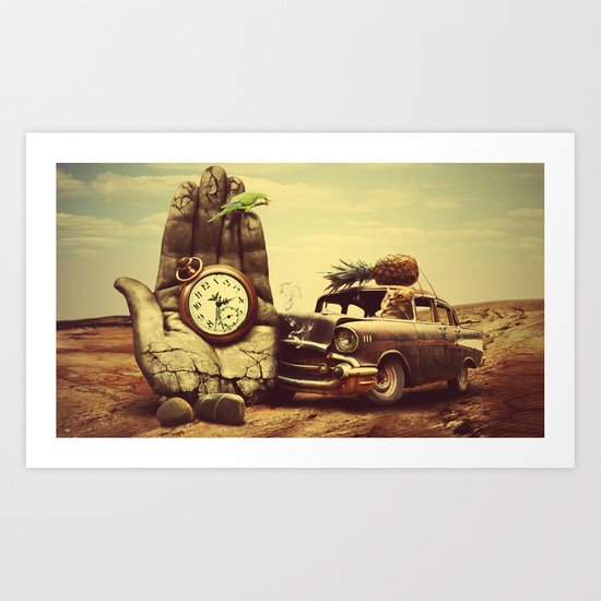 Vintage dreams Art Print
