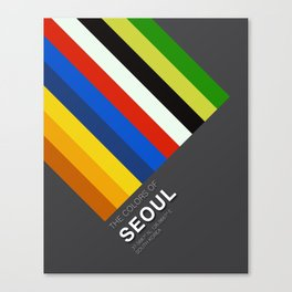 Colors of Seoul Canvas Print