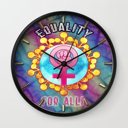 Equality For All Wall Clock