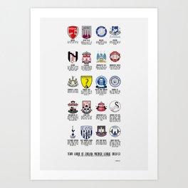 Alternate Football Teams Art Print