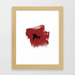 Charger! Framed Art Print
