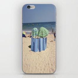 Twin Umbrella's and the Sun! iPhone Skin