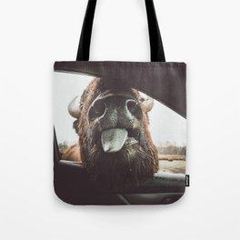 Bison Wassup Tote Bag