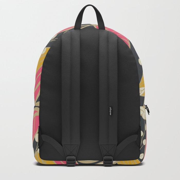 Leaves pattern 04 Backpack