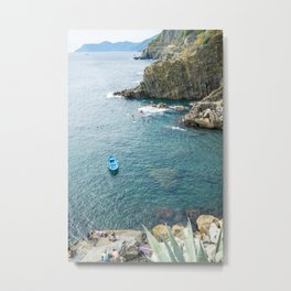 Riomaggiore, Cinque terre, Italy Metal Print