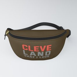 Cleveland That I love Fanny Pack