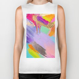 Contemporary abstract painting Biker Tank