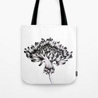dandelion Tote Bags featuring Dandelion by ECMazur