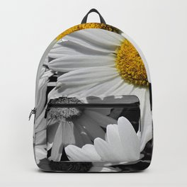 Cheerful Daisy Flower A197 Backpack