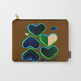 Heart of greenery Carry-All Pouch