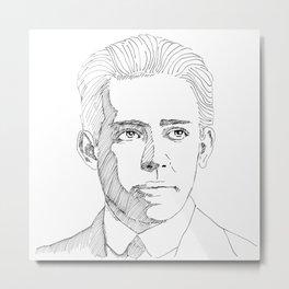 Niels Bohr sketch Metal Print