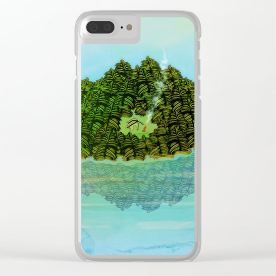GREENERY HOME / Nature Clear iPhone Case