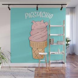 Pistachio Wall Mural