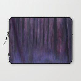 Painted Trees 2 Purples Laptop Sleeve
