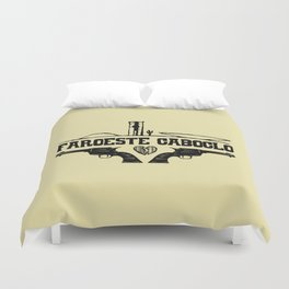 Faroeste Caboclo Duvet Cover