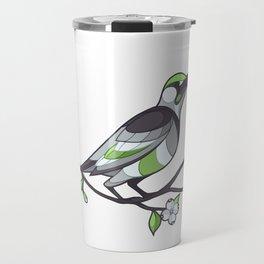Pride Birds -  Agender Travel Mug