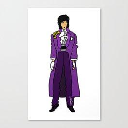 Purple Dove 1 Canvas Print