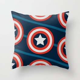 Shield, yield. Throw Pillow