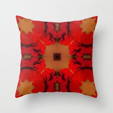 Red Yams Throw Pillow