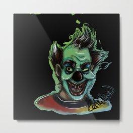 Horror Clown Metal Print