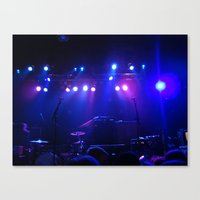 concert Canvas Prints featuring Concert by Sarah Sugarman