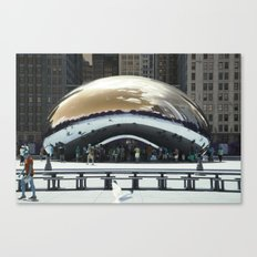 bean to cloud-gate recently? Canvas Print